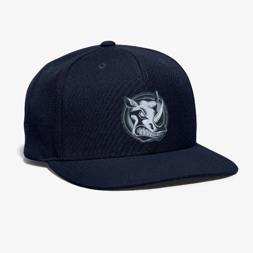 Wild Rhino Grunge Animal - Snapback Baseball Cap