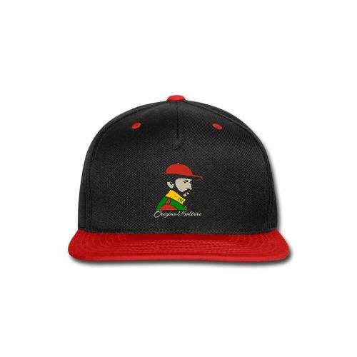 Haile Selassie Rasta Print - Snap-back Baseball Cap