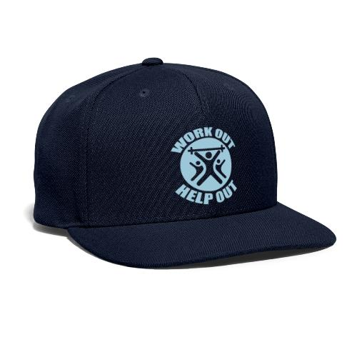 Work Out Help Out- Hat - Snapback Baseball Cap