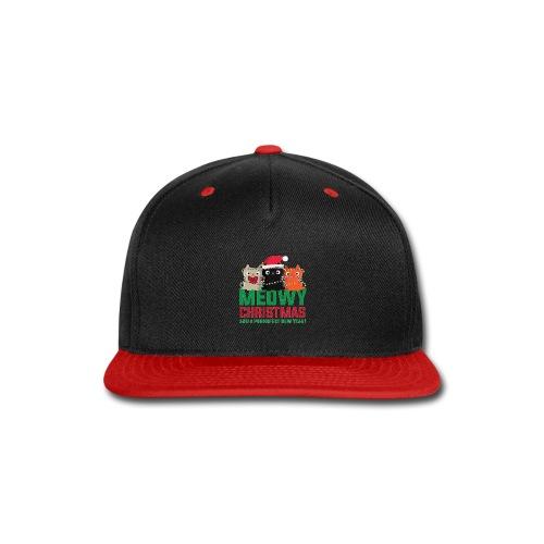 Meowy Christmas - Snap-back Baseball Cap
