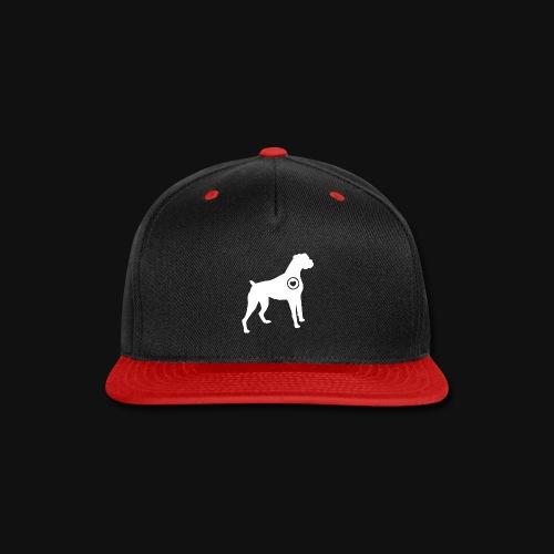 Boxer love - Snap-back Baseball Cap