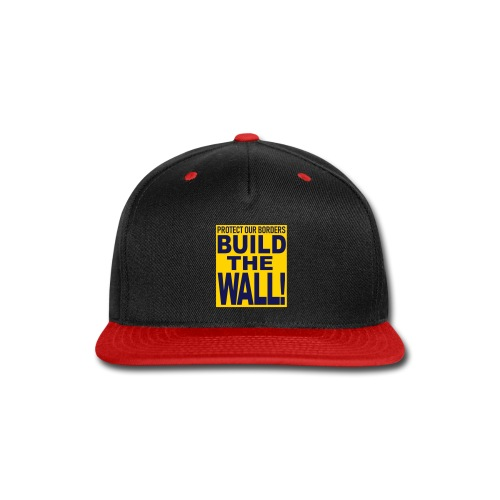 BUILD THE WALL - Snap-back Baseball Cap