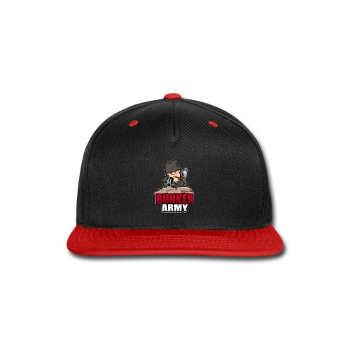BUNKER ARMY Logo 2 - Snap-back Baseball Cap