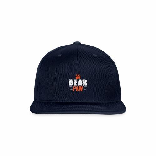 Bear paw - Snapback Baseball Cap