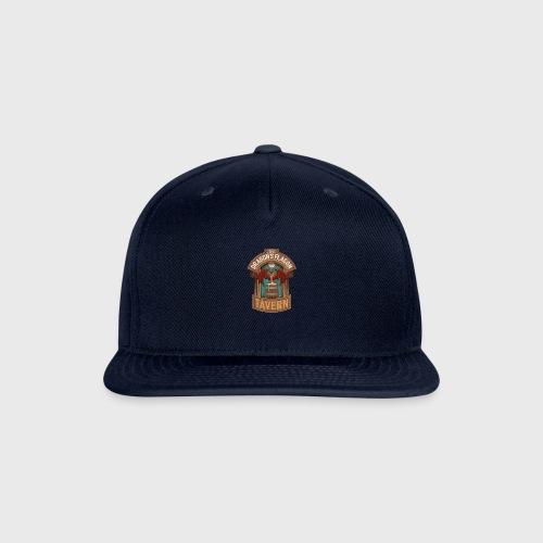 the dragons flagon tavern dragon fantasy - Snapback Baseball Cap