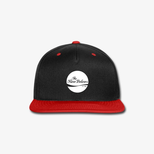 The River Delivers in White - Snap-back Baseball Cap