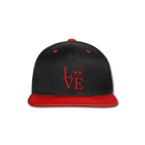 LOVE ALIEN - Snap-back Baseball Cap