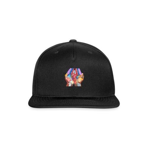 Heart in hand - Snapback Baseball Cap