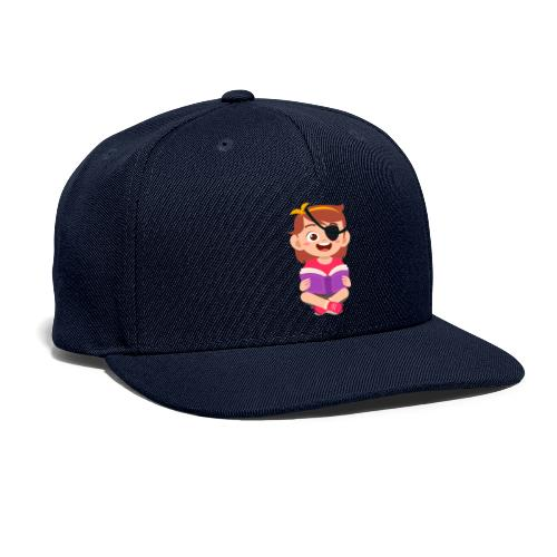 Little girl with eye patch - Snapback Baseball Cap