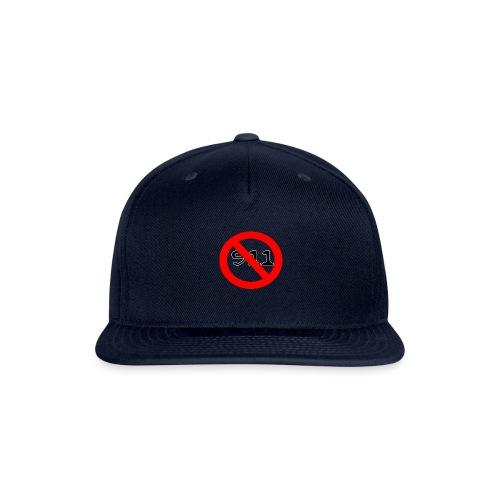 foullar never use 911 records - Snapback Baseball Cap