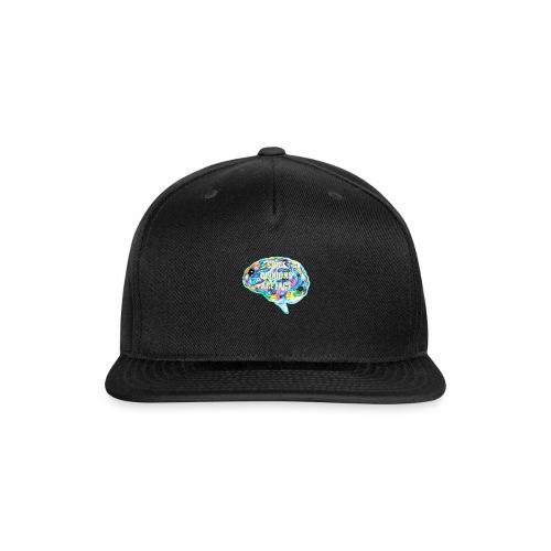 brain fact - Snapback Baseball Cap