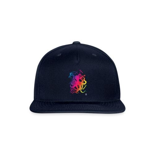 Rainbow Circus Octopus - Snapback Baseball Cap