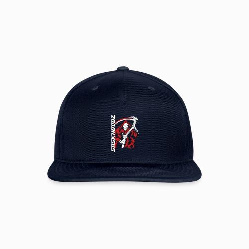 saskhoodz skullreaper - Snapback Baseball Cap