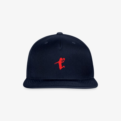 EVB Classic Red and Black - Snapback Baseball Cap