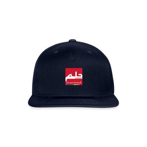 Helem Montreal Logo - Snapback Baseball Cap