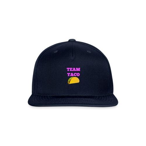TEAMTACO - Snapback Baseball Cap