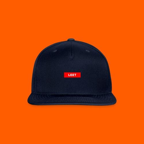 LIMITED EDITION LEET MERCH - Snapback Baseball Cap