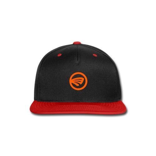 LuckyFin Orange - Snap-back Baseball Cap
