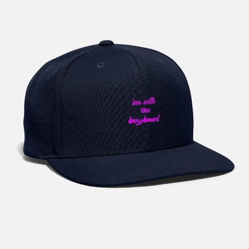 انا مع فريق موسيقي - Snapback Baseball Cap