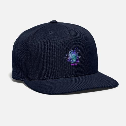 music - Snapback Baseball Cap
