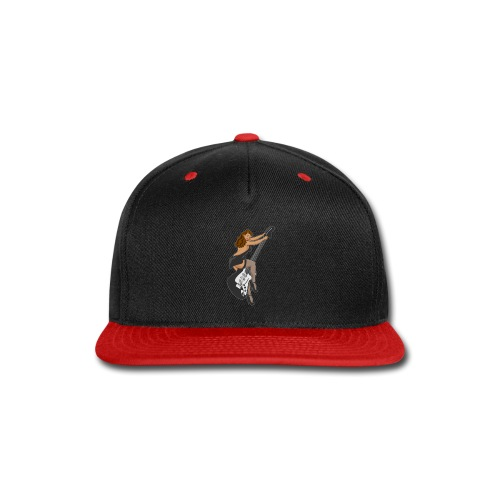 Guitar Pinup Girl - Snap-back Baseball Cap