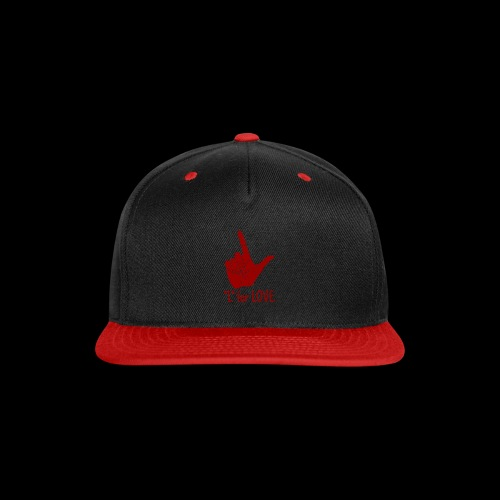 L is for Love - Snap-back Baseball Cap