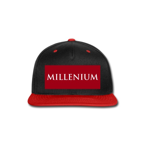 RED MILLENIUM - Snap-back Baseball Cap