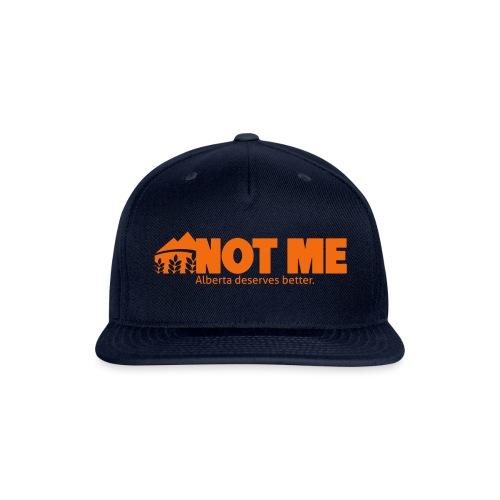 NDP doesn't speak for ME! - Snapback Baseball Cap