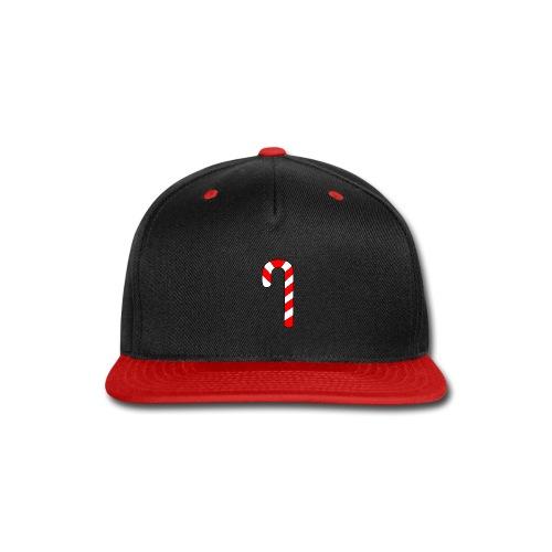 Candy Cane - Snap-back Baseball Cap