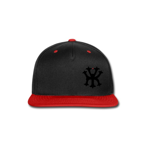 KREW YORK LOGO - BIG APPLE ALTERNATE DESIGN - RED - Snap-back Baseball Cap