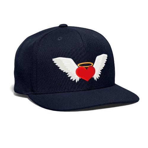 Winged heart - Angel wings - Guardian Angel - Snapback Baseball Cap