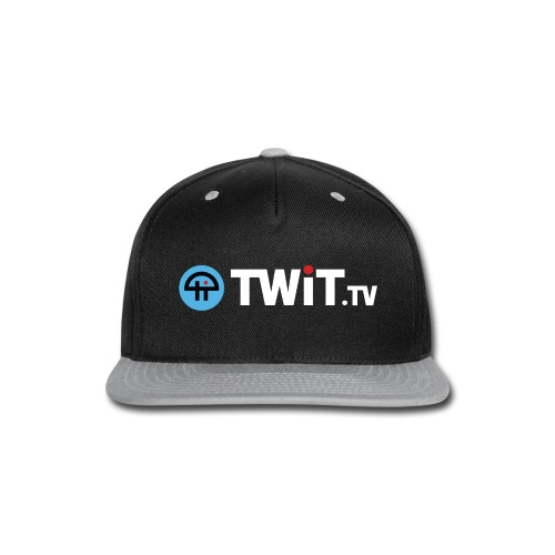 TWiTtv White Logo - Snap-back Baseball Cap