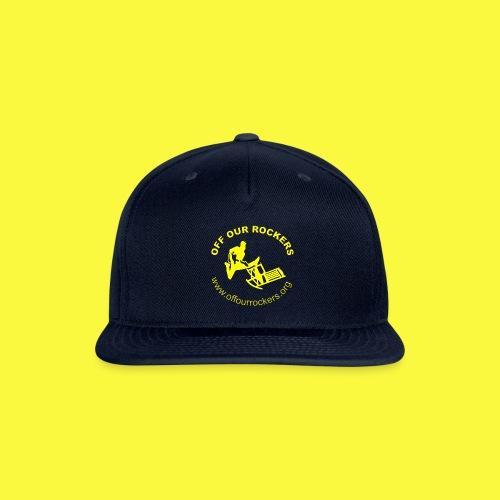 2Yellow Logo png - Snapback Baseball Cap