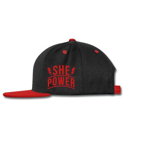 She Power - Snap-back Baseball Cap