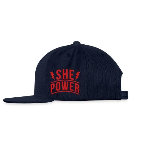 She Power - Snapback Baseball Cap
