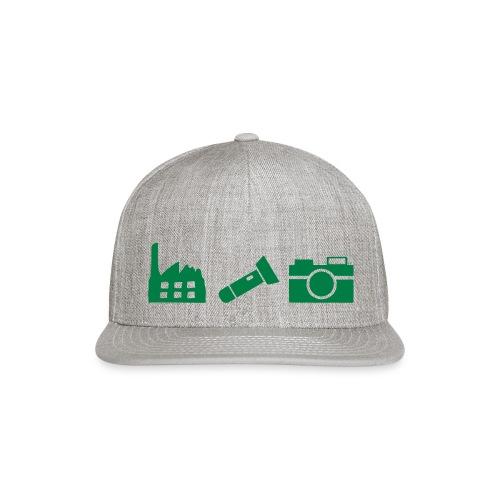 DCUE_Icons_Small - Snap-back Baseball Cap