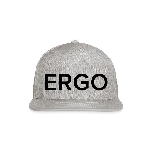 ERGO - Snapback Baseball Cap