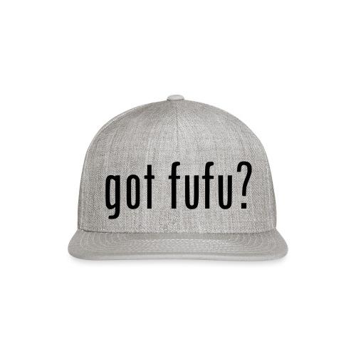 gotfufu-black - Snapback Baseball Cap