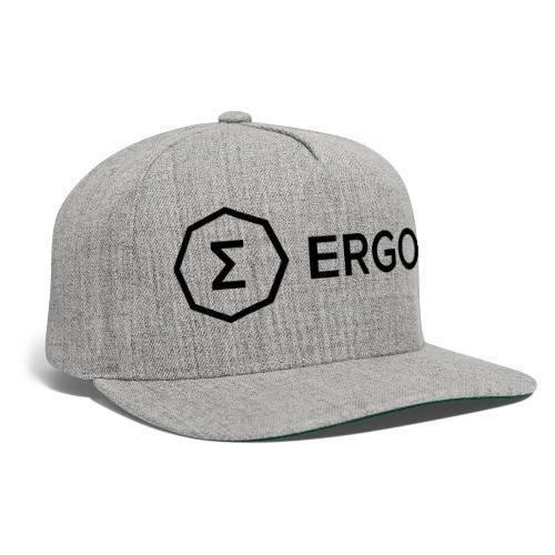 Ergo Symbol with Name - Snapback Baseball Cap