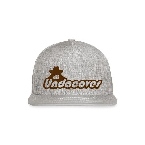 dj UndaCover LOGO - Snapback Baseball Cap