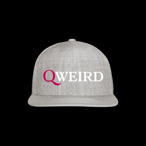(Q)weird - Snap-back Baseball Cap