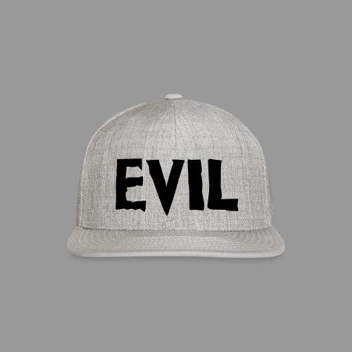 Evil - Snap-back Baseball Cap