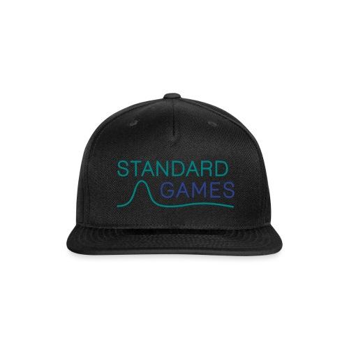 standardgames-logo-hat - Snap-back Baseball Cap