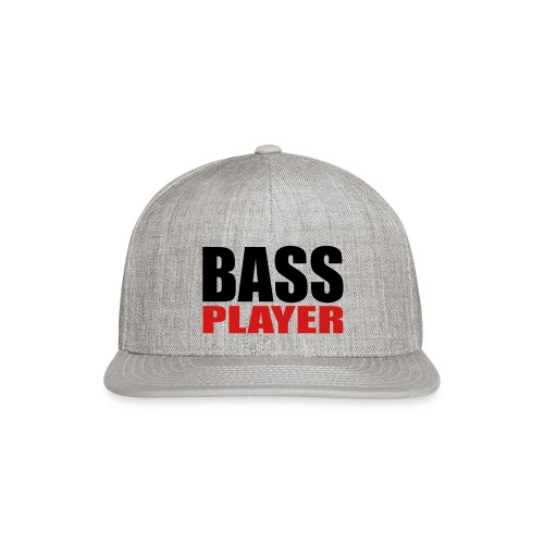 Bass Player - Snap-back Baseball Cap