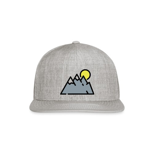 The High Mountains - Snap-back Baseball Cap