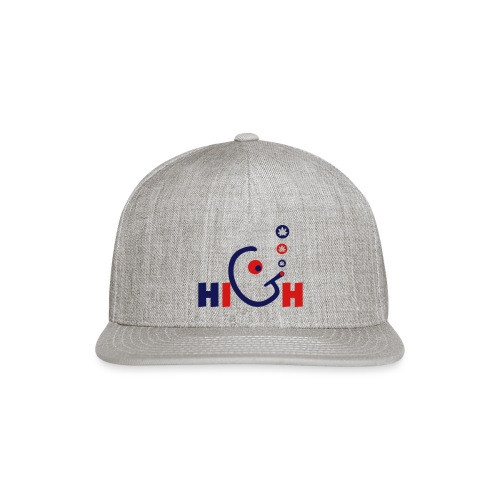 High - Snap-back Baseball Cap