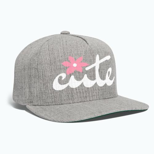 CUTE - Snapback Baseball Cap