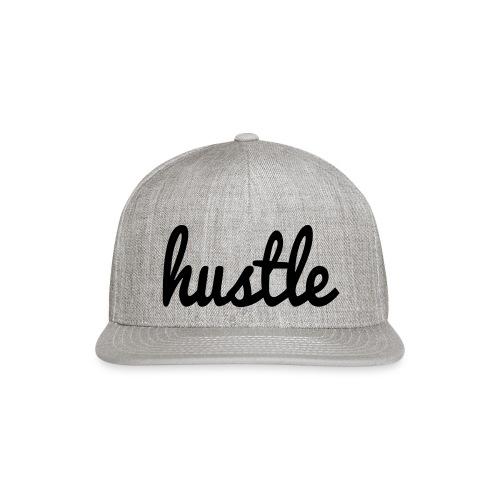 hustle vector - Snap-back Baseball Cap