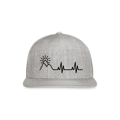 Heartbeat of a Traveler - Snapback Baseball Cap