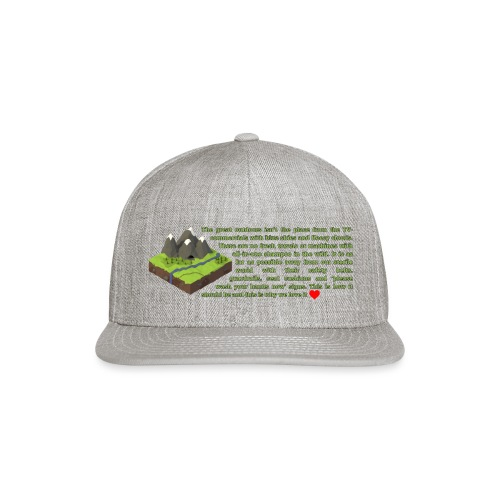 Loving Nature - Snap-back Baseball Cap